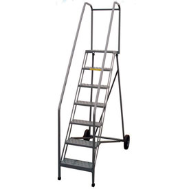 P.W. Platforms Roll-A-Fold Ladders