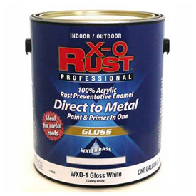 X-O Rust Waterbase Anti-Rust Primers and Enamels