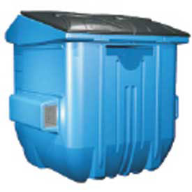 Diversified Plastics Front Load Recycling Containers