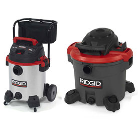 RIDGID® Industrial Wet Dry Vacuums