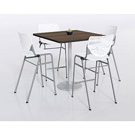 KFI – Lunchroom Racetrack Pedestal Tables