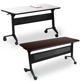 Mayline® - Flip-N-Go Series Flip-Top Training Tables