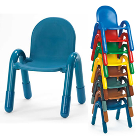 Angeles - Stackable Preschool Chairs