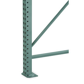 Steel King® Seismic Pallet Rack Uprights
