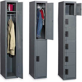 Edsal Flush Front Silent Steel Lockers