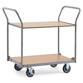 Relius Solutions Wood Shelf Cart