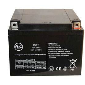 AJC® Brand Replacement Lead Acid Batteries For King Fisher