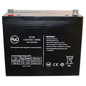 AJC® Brand Replacement Wheelchair Batteries for Palmer Industries