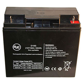 AJC® Brand Replacement Wheelchair Batteries for Roma