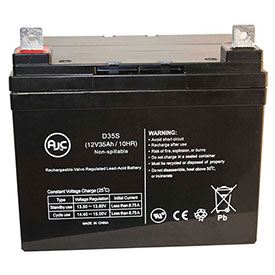 AJC® Brand Replacement Wheelchair Batteries for Ego
