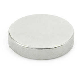Solid Disk-Shaped Raw Magnets
