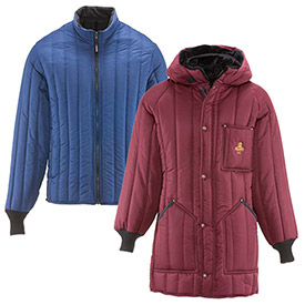 Industrial Puffer Cold Weather Jacket