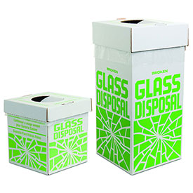 Glass Disposal Cartons