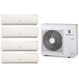 Friedrich Multi-Zone Ductless Split Air Conditioners