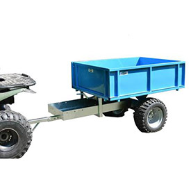 Logrite® All Terrain Dump Trailer