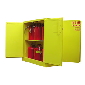 Securall Dual Access Storage Cabinet