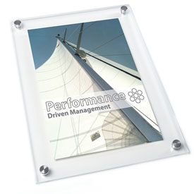Vetro Stand-Off Acrylic Picture Frames