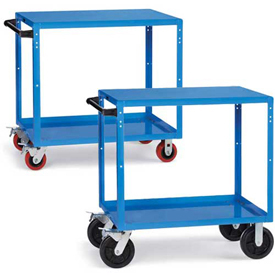 RELIUS ELITE Premium Flush-Shelf Shop Carts
