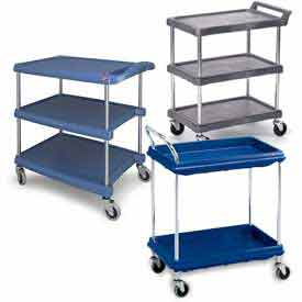 Chrome Post Utility Carts