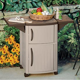 Suncast Patio Cabinet Serving Station