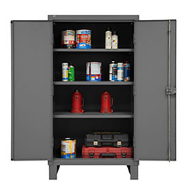 Global™ All-Welded Heavy Duty 12 Gauge Storage Cabinets