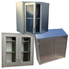 Stainless Steel Wall Cabinets