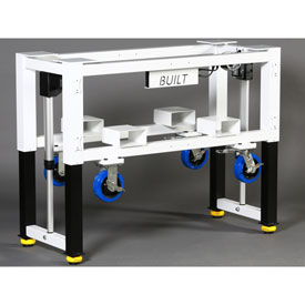 Built Systems Height Adjustable Machine Tables