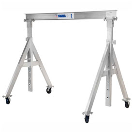 Spanco Adjustable Aluminum Gantry Cranes