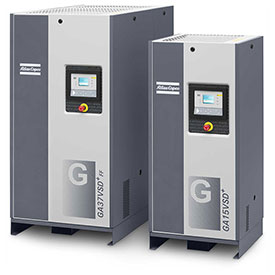 Atlas Copco Variable Speed Rotary Screw Air Compressors