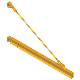 Caldwell Wall Mount Tension Braced Jib Cranes
