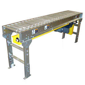 Omni Metalcraft Lineshaft Powered Roller Conveyors