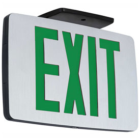 Thin Die-Cast Aluminum Exit Signs