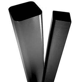 Square Straight Steel Poles