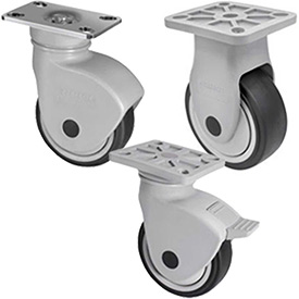 WMI® NSF Certified Sanitary Health Care Casters