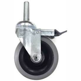 Darnell-Rose Stainless Steel Threaded Stem Casters