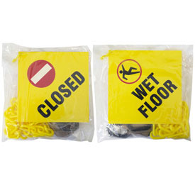 Safety Sign & Chain Kits