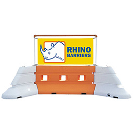 Rhino Barrier Water Fillable Barriers