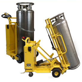 Electro Kinetic Technologies Pony Express Motorized Cylinder Carts for Large Liquid Gas Cylinders
