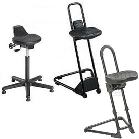 Ergonomic Work Sit/Stand Stool