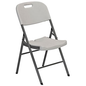 Sandusky Plastic Folding Chairs