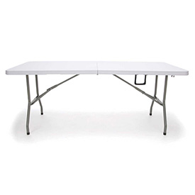 OFM Plastic Folding Tables