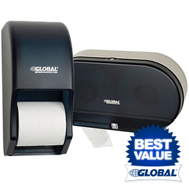 Global™ Toilet Tissue Dispensers
