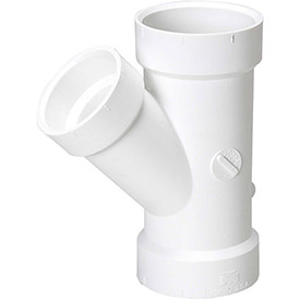 PVC Wye Fittings