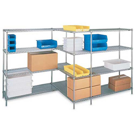 Metro® Super Erecta, Brite Zinc Plated, Open Wire Shelving