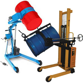 DC & AC Powered Drum Lifting Trucks