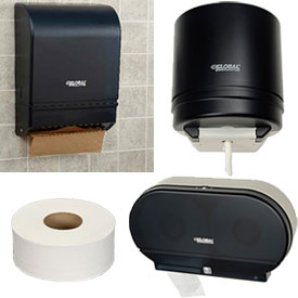 Tissue And Paper Towel Dispenser Starter Kits