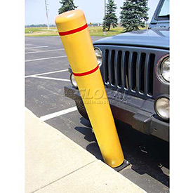 Flexible Bollard Systems With Or Without Sign Posts