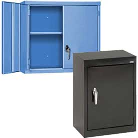Compact & Wall Mount Solid Door Cabinets