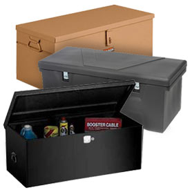 Portable Jobsite Storage Boxes & Chests