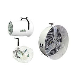 Horizontal Air Flow Fans
